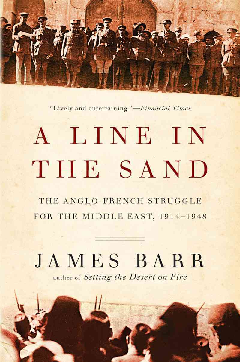 A Line in the Sand By Barr, James